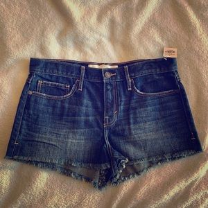 New Abercrombie & Fitch Size 6 Denim Cutoff Shorts